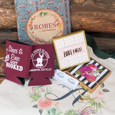 Bridesmaids Gifts for Fall Wedding at Rustic Colorado Venue