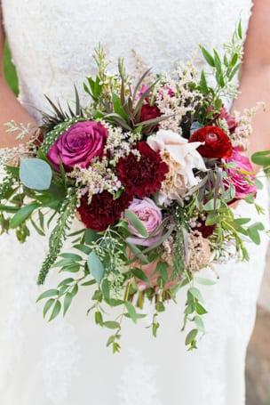Bridal Bouquet by Calla Blue Florals