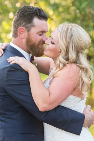 Spruce Mountain Ranch Wedding Bride and Groom