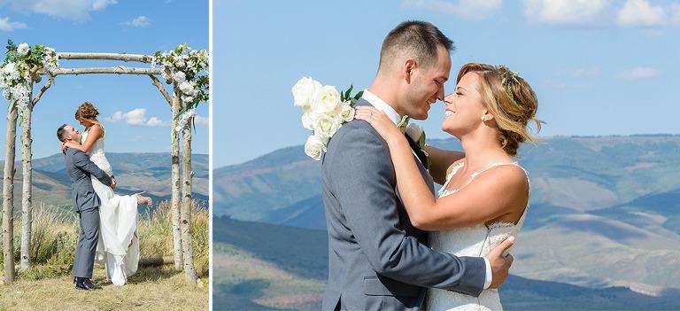 Vail Mountian Wedding
