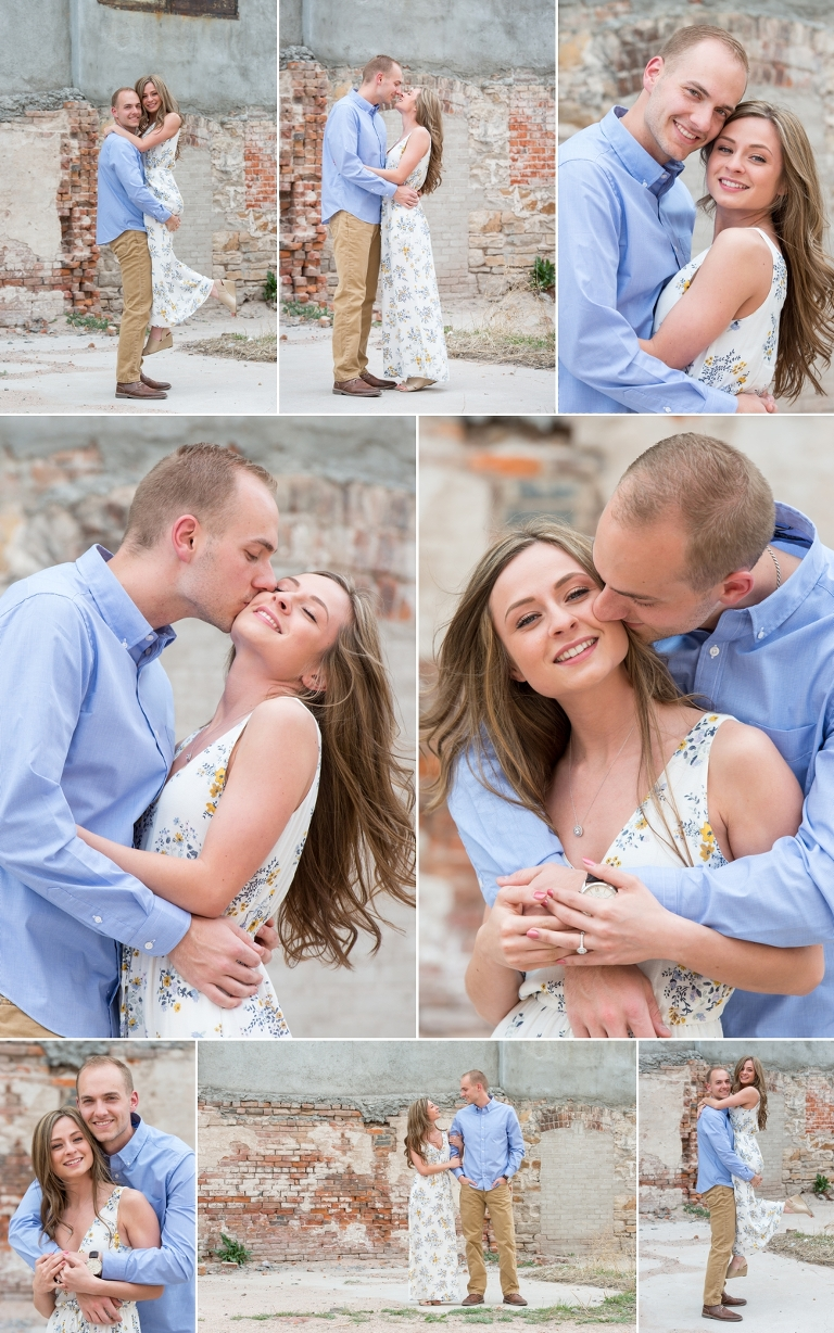 Cheyenne Engagement Session Inspiration in Downtown Cheyenne Wyoming