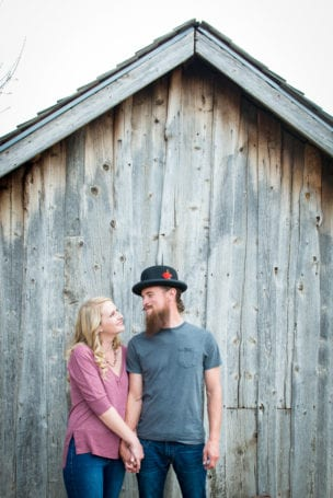Denver Engagement Session at Chatfield Farms Old Barn Engagement