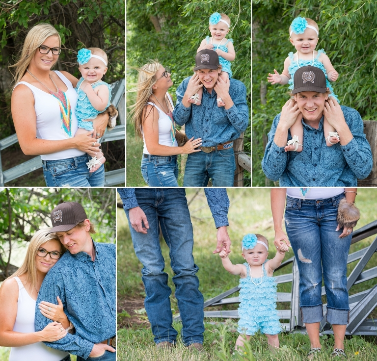 Cheyenne family photographer at Wyoming farm