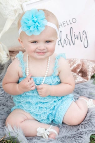 Cheyenne Child Photographer 1 Year Old Birthday Portraits